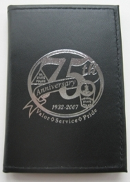 75th Anniv. Badge Case