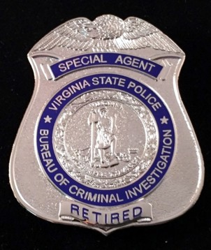 Special Agent Retired Badge