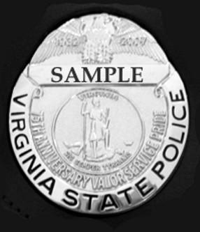 Historic VSP Uniform Badge