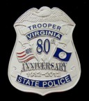 VSP 80th Anniversary Badge
