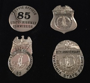 85th Anniversary Historical Badge Set
