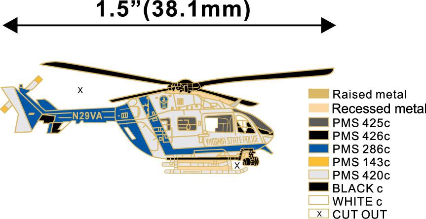 VSP Aviation Lapel Pin